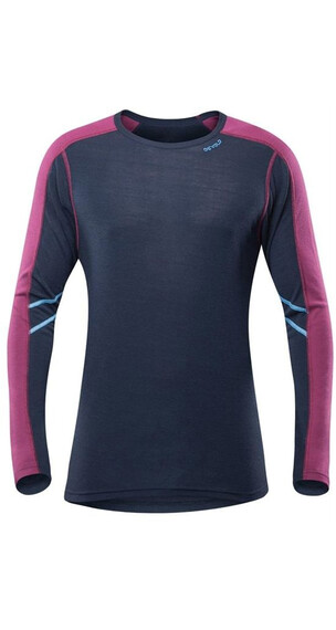 Devold M's Sport Shirt Ink/Beetroot